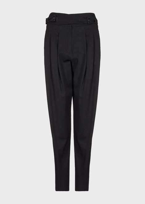 EMPORIO ARMANI Casual Pants Woman d