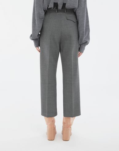 TROUSERS Tailored trousers Grey