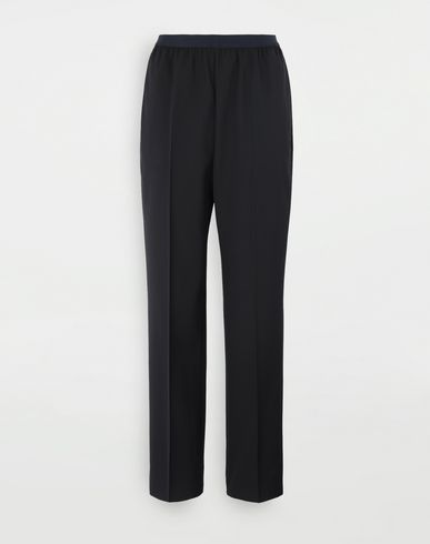 MAISON MARGIELA Pleated trousers Casual pants Woman f