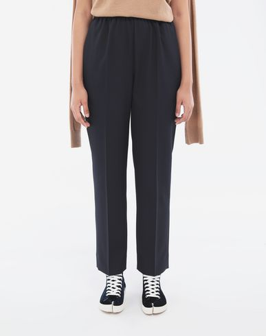 PANTS Pleated trousers Blue