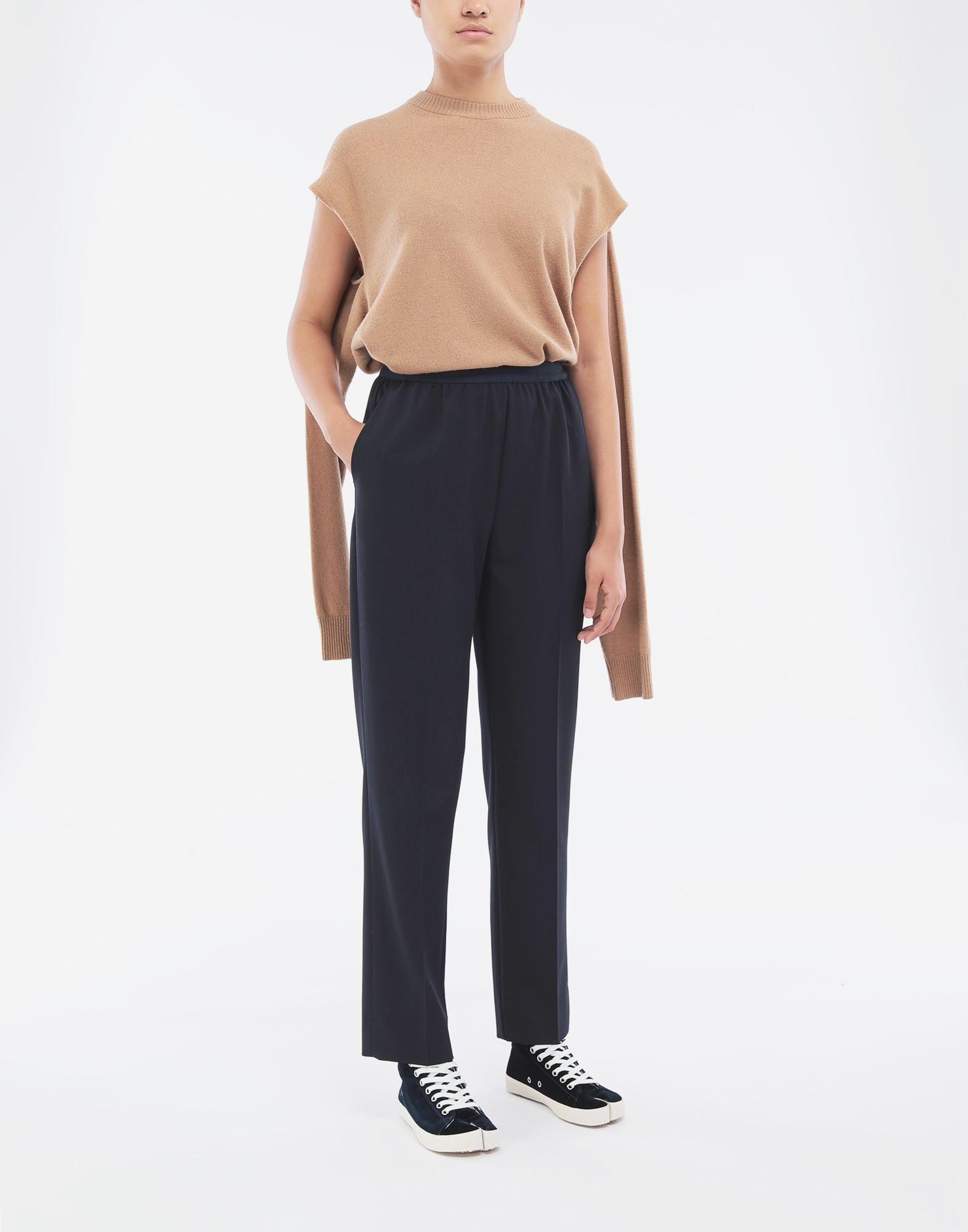 MAISON MARGIELA Pleated trousers Trousers Woman d