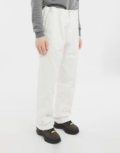 MAISON MARGIELA Puckered straight-leg  trousers Trousers Man r