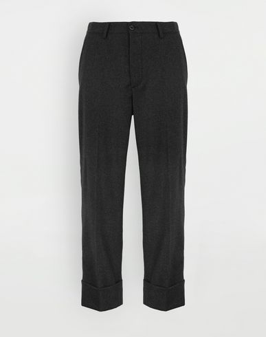 MAISON MARGIELA Turn-up trousers Casual pants Man f