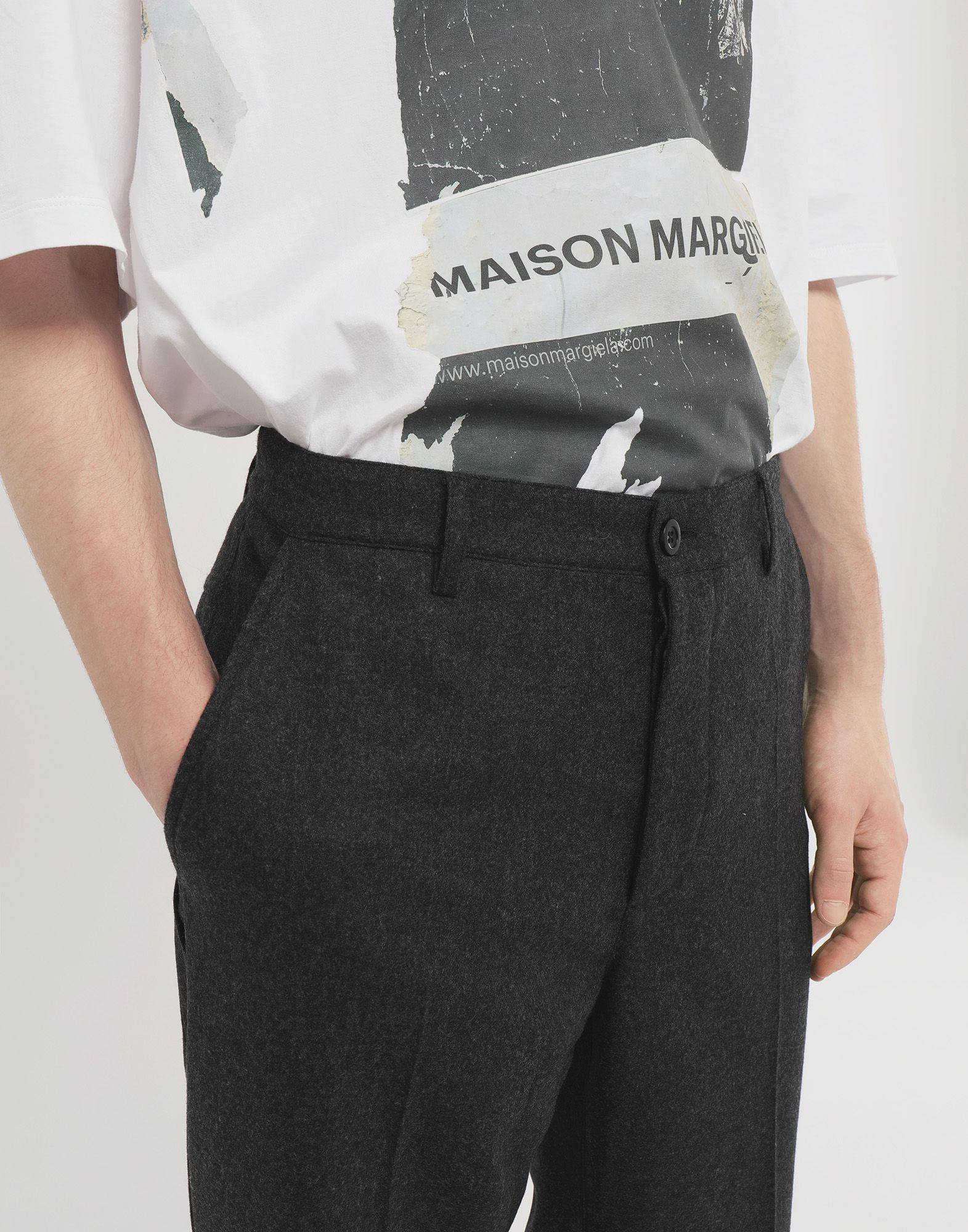 MAISON MARGIELA Turn-up trousers Trousers Man a