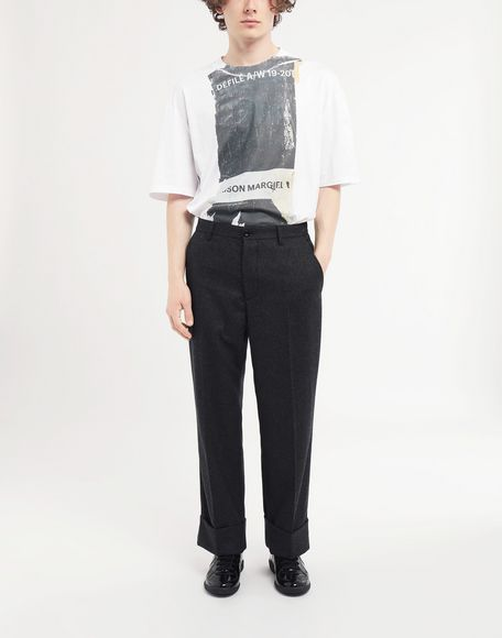 MAISON MARGIELA Turn-up trousers Trousers Man d
