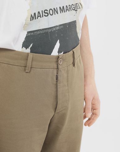 PANTS Cotton trousers Khaki