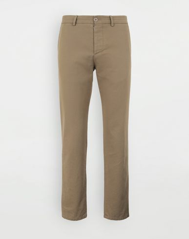 MAISON MARGIELA Cotton trousers Trousers Man f