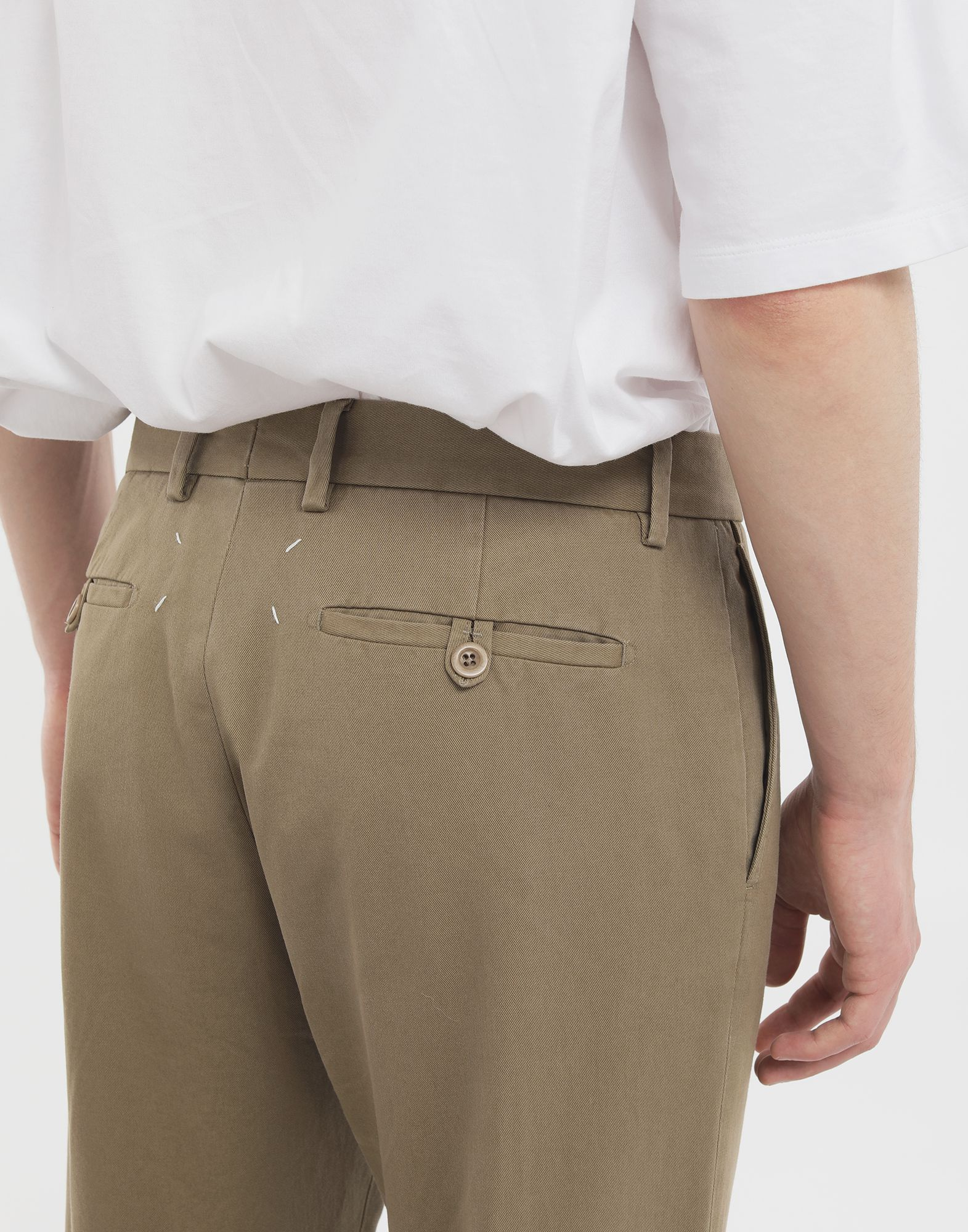 MAISON MARGIELA Cotton trousers Casual pants Man b