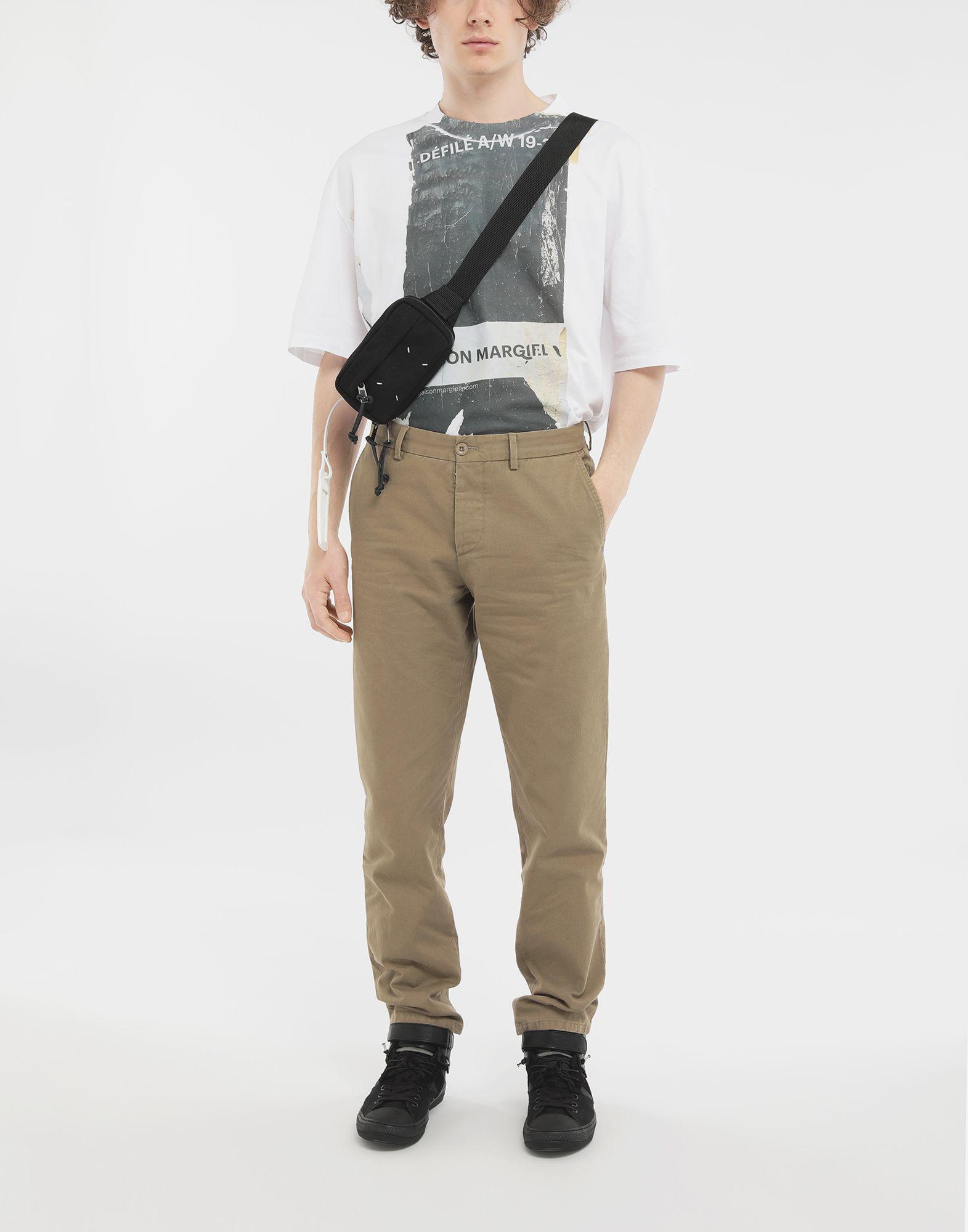 MAISON MARGIELA Cotton trousers Casual pants Man d