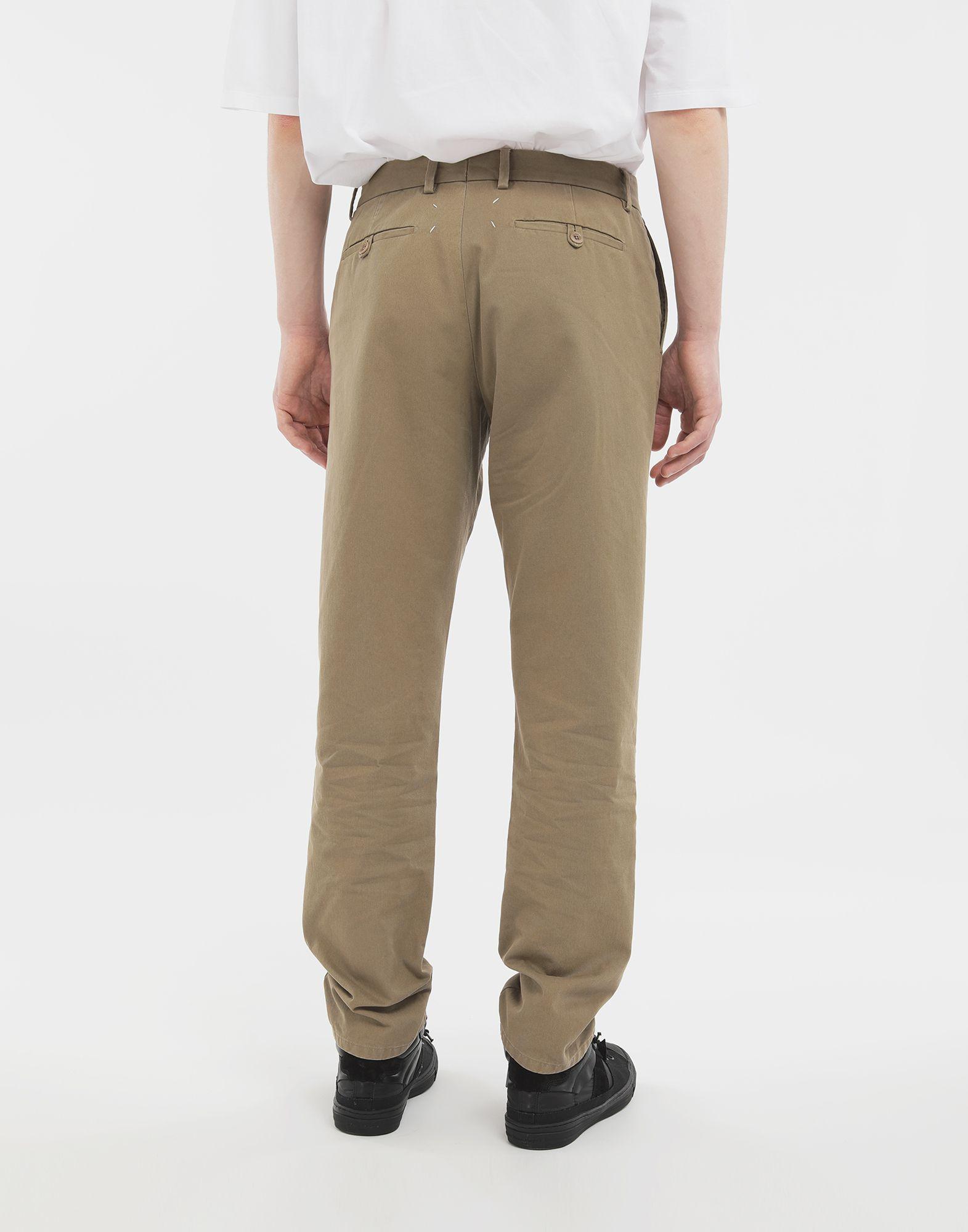 MAISON MARGIELA Cotton trousers Casual pants Man e