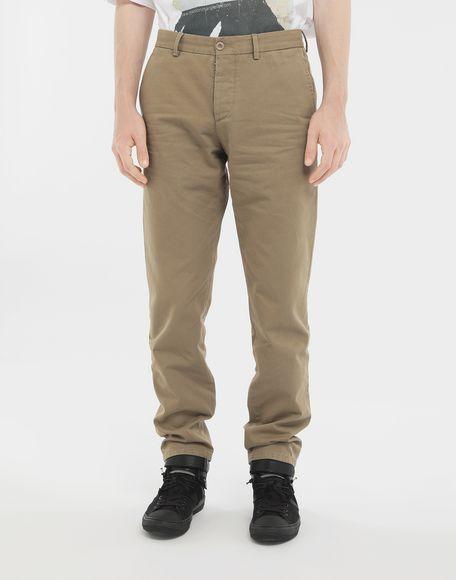 MAISON MARGIELA Cotton trousers Casual pants Man r