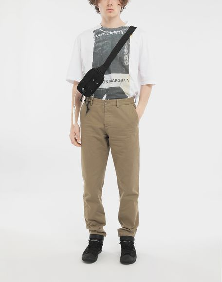 MAISON MARGIELA Cotton trousers Casual pants Man d