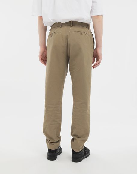 MAISON MARGIELA Cotton trousers Casual pants Man e