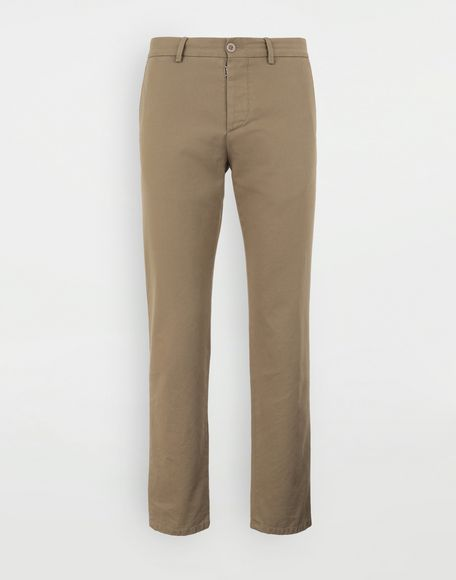 MAISON MARGIELA Cotton trousers Casual pants Man f