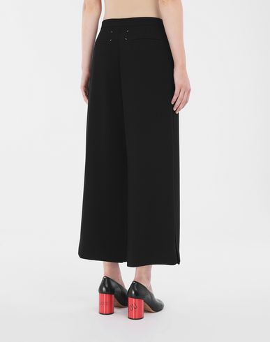 PANTS Wide-leg trousers Black