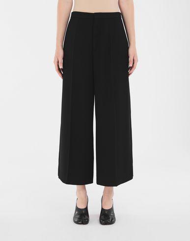 TROUSERS Wide-leg trousers Black