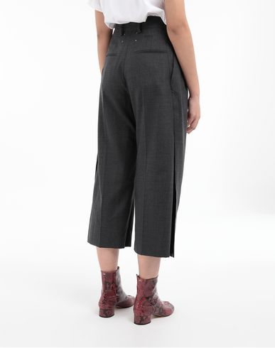 PANTS Spliced trousers Grey