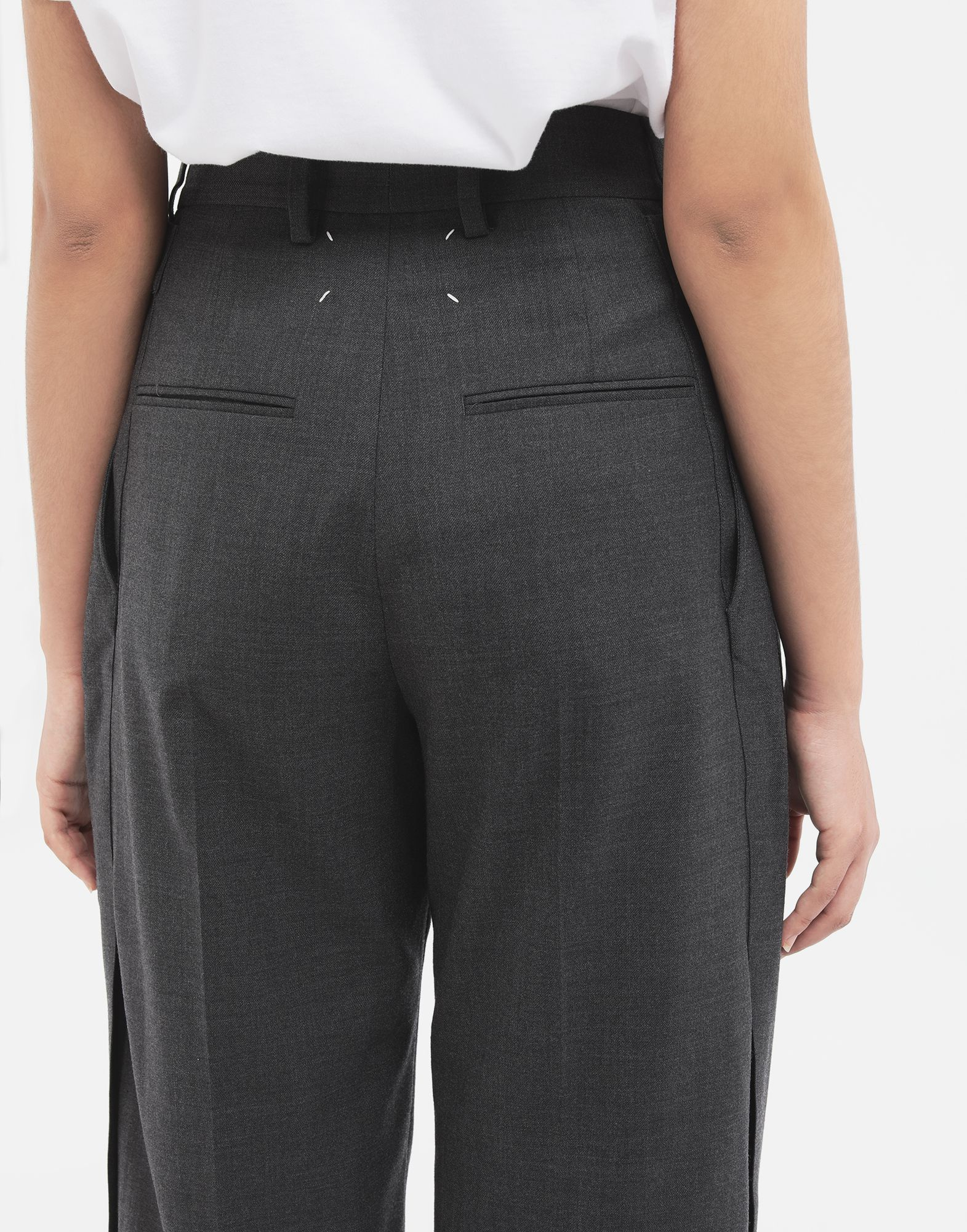 MAISON MARGIELA Spliced trousers Casual pants Woman b