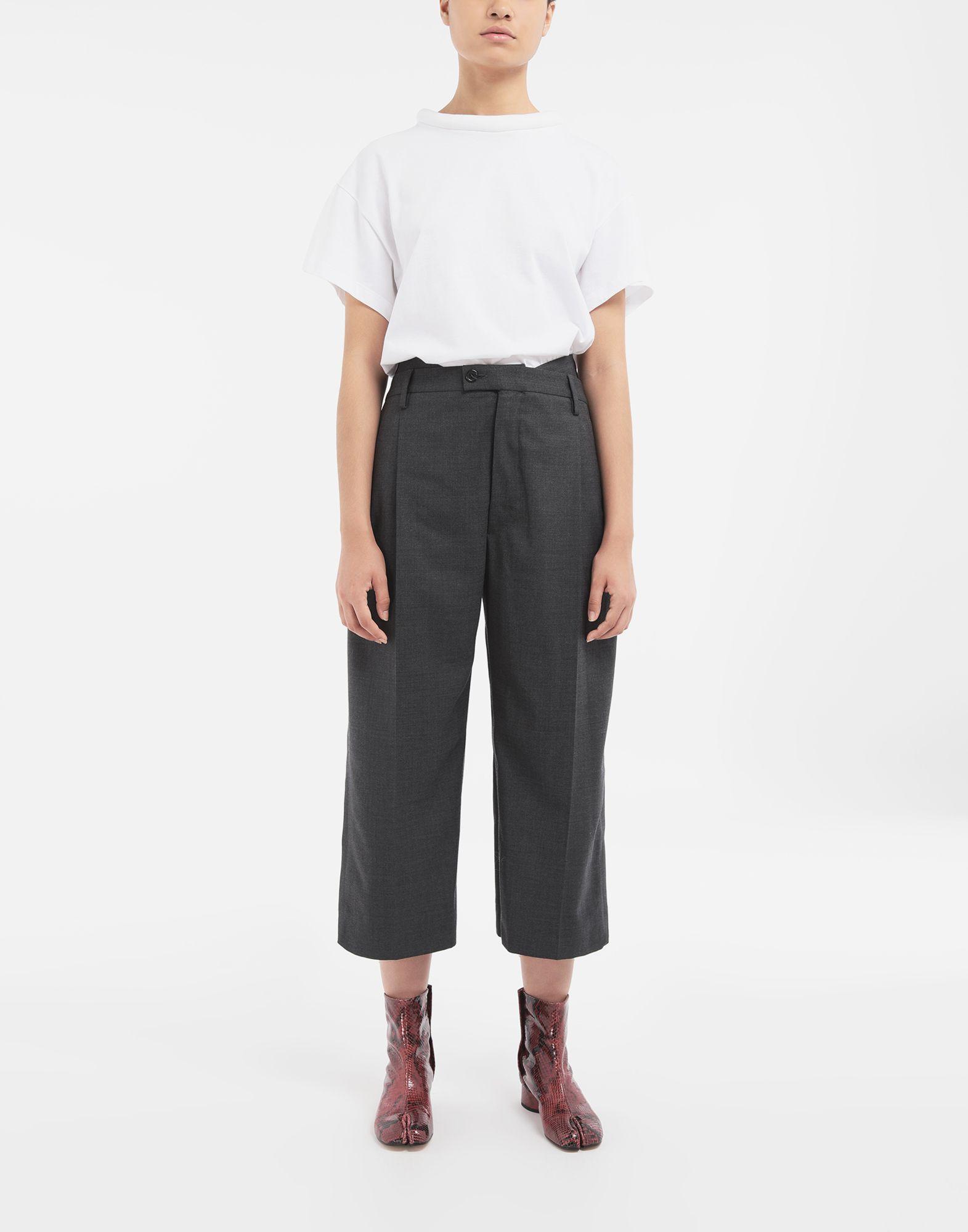 MAISON MARGIELA Spliced trousers Casual pants Woman d