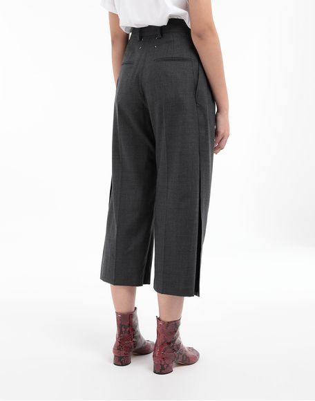 MAISON MARGIELA Spliced trousers Casual pants Woman e