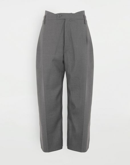 MAISON MARGIELA Spliced trousers Casual pants Woman f