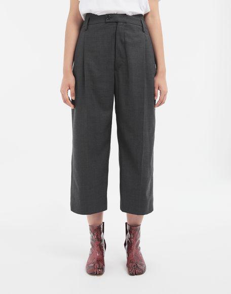 MAISON MARGIELA Spliced trousers Casual pants Woman r