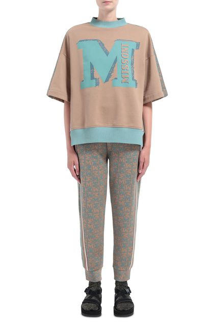M MISSONI Pants Khaki Woman - Back