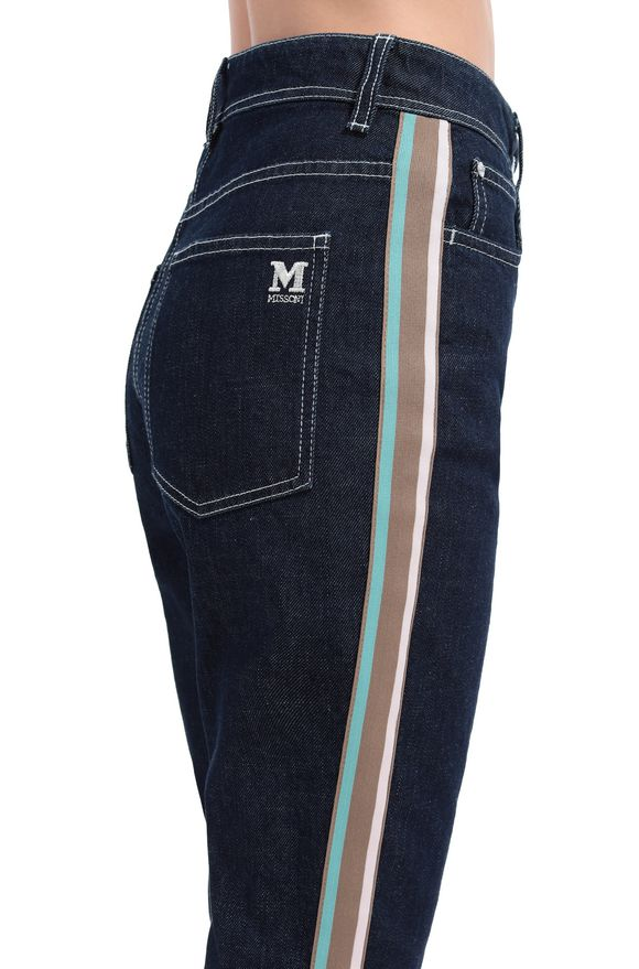 M MISSONI Jeans Woman, Rear view