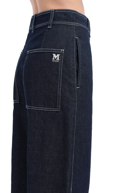 M MISSONI Jeans Dark blue Woman - Front