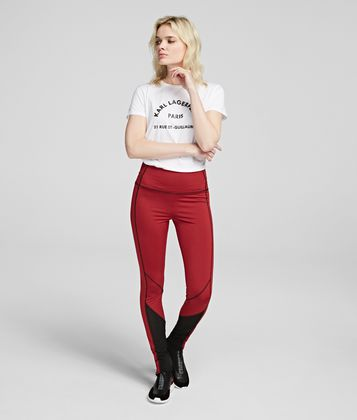 KARL LAGERFELD RUE ST GUILLAUME LEGGINGS