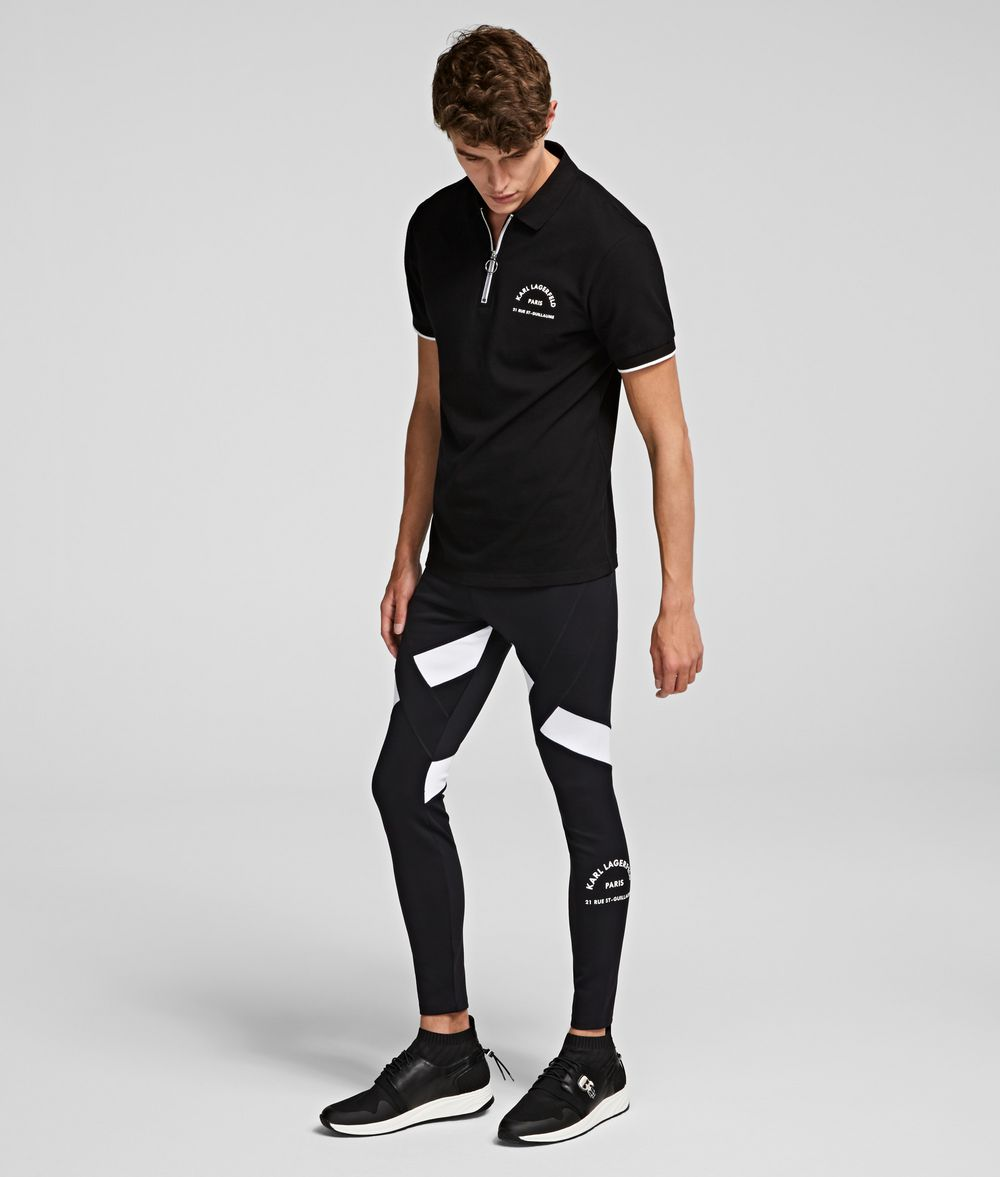 KARL LAGERFELD Rue St Guillaume Leggings Pants Man f