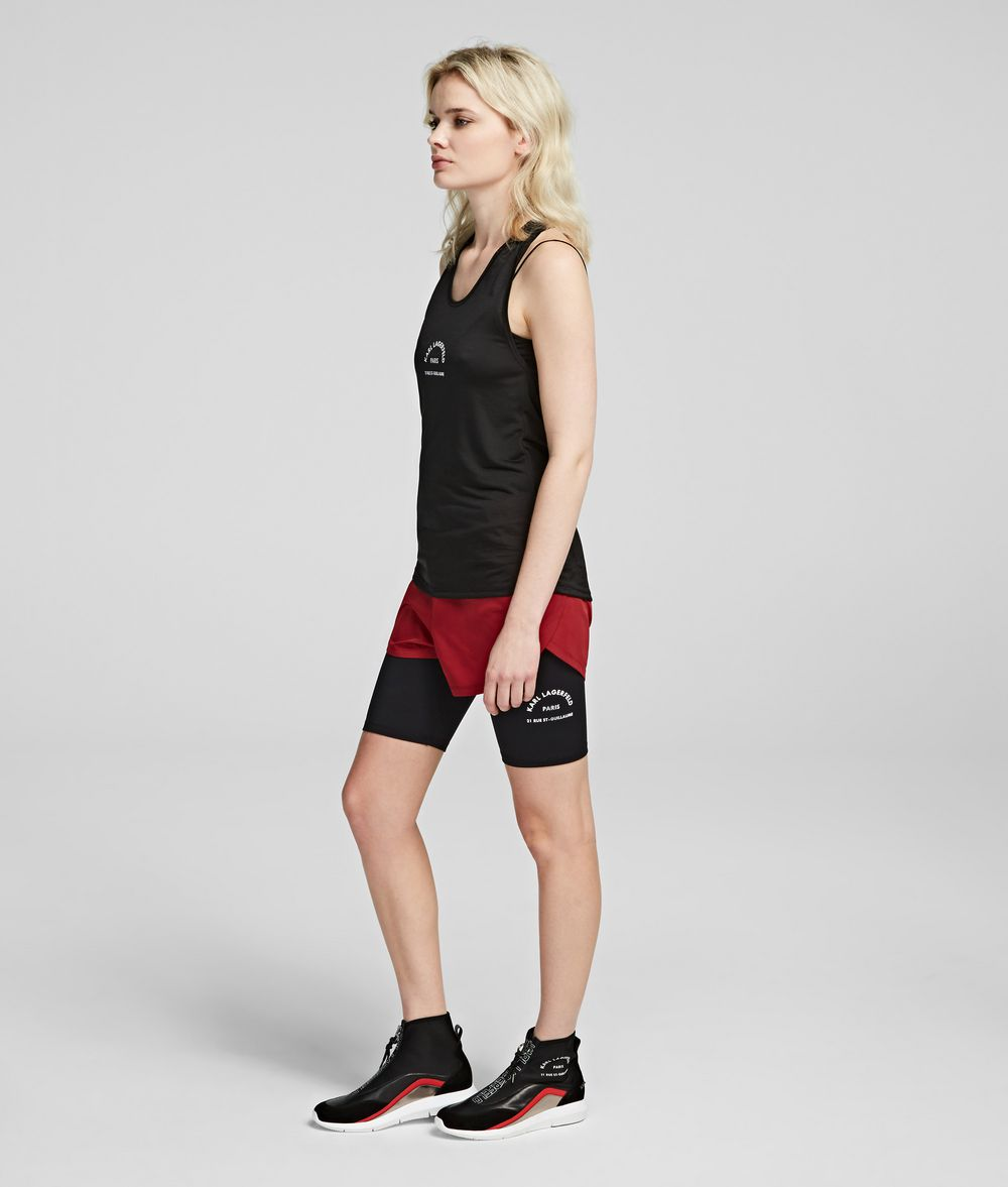 KARL LAGERFELD Rue St Guillaume Performance Shorts Shorts Woman d