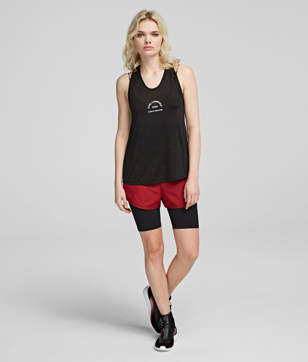 KARL LAGERFELD Rue St Guillaume Performance Shorts Shorts Woman f