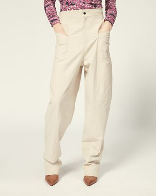 ISABEL MARANT TROUSER Woman LADJO TROUSERS r