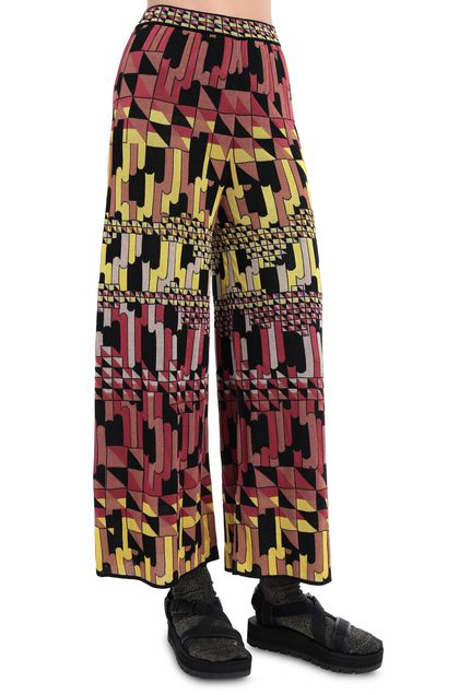 M MISSONI Pants Brown Woman - Front