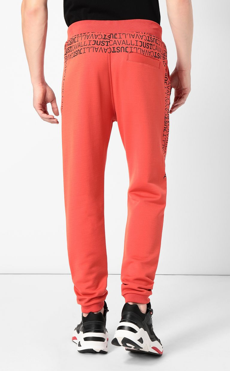 JUST CAVALLI Logomania trousers Casual pants Man a