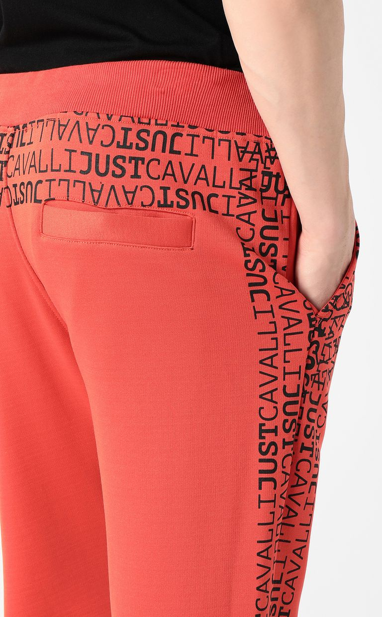 JUST CAVALLI Logomania trousers Casual pants Man e