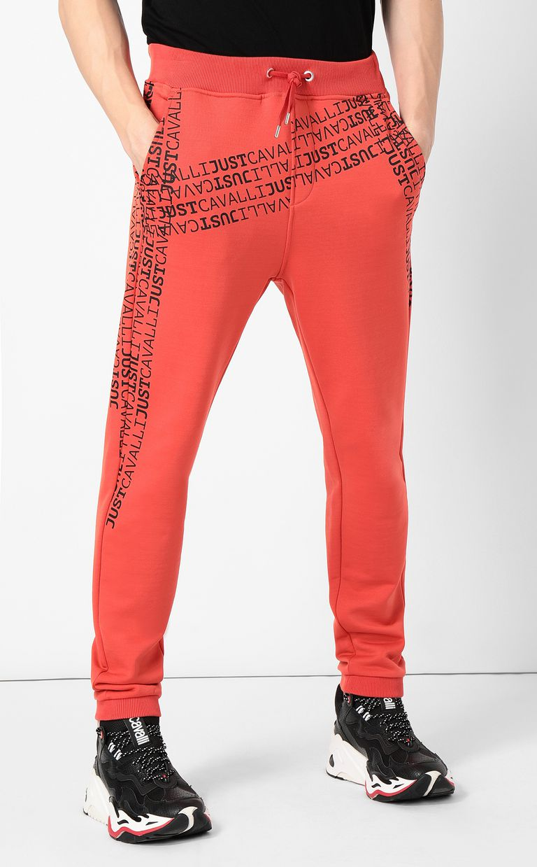 JUST CAVALLI Logomania trousers Casual pants Man r