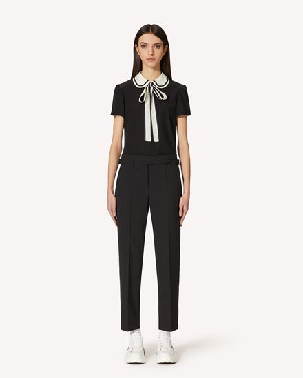 REDValentino Trousers Woman SR3RBB1000J 0NO f