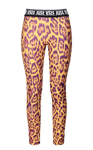 JUST CAVALLI Casual pants Woman Leggings with python print f