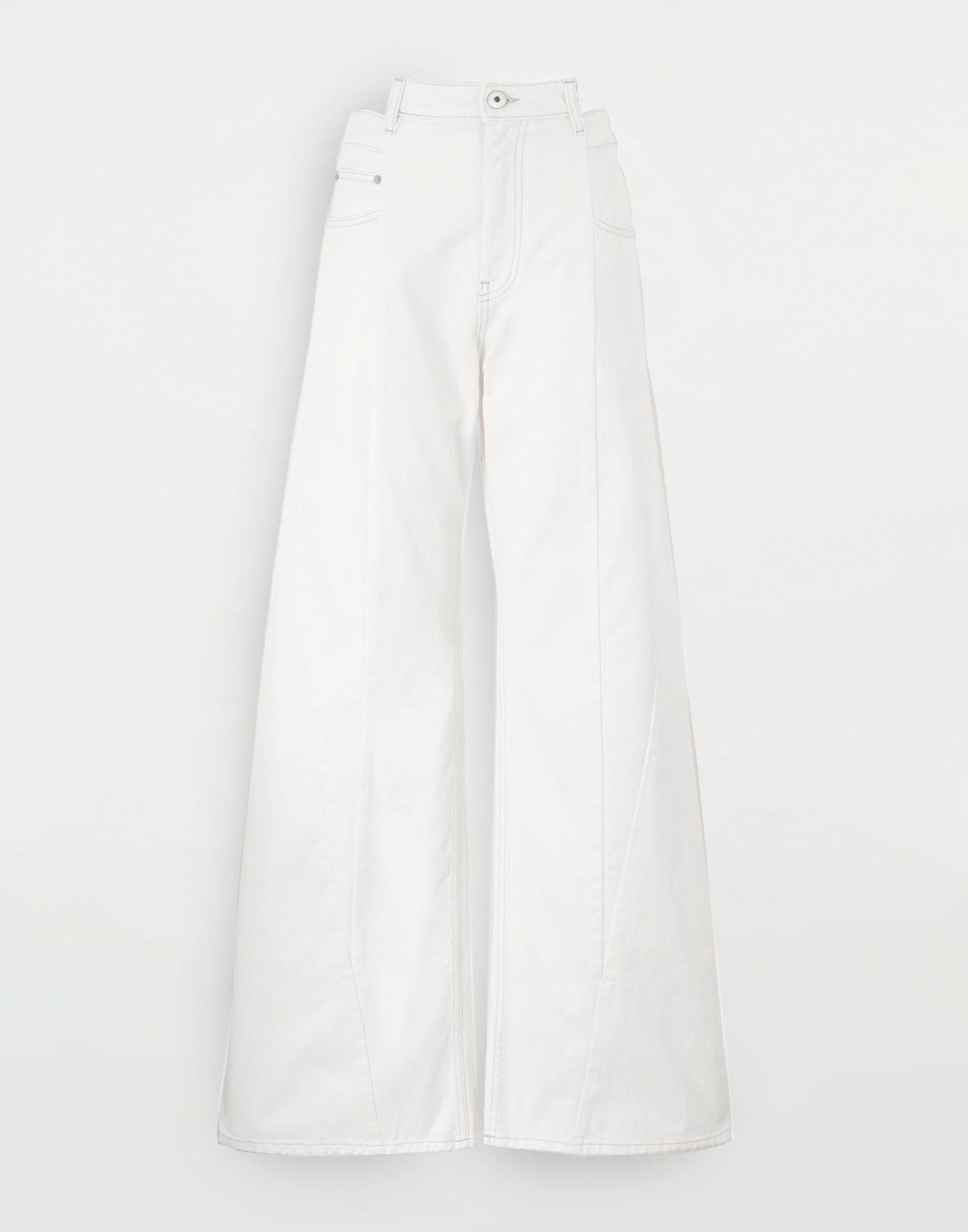 MAISON MARGIELA Décortiqué jeans Jeans Woman f