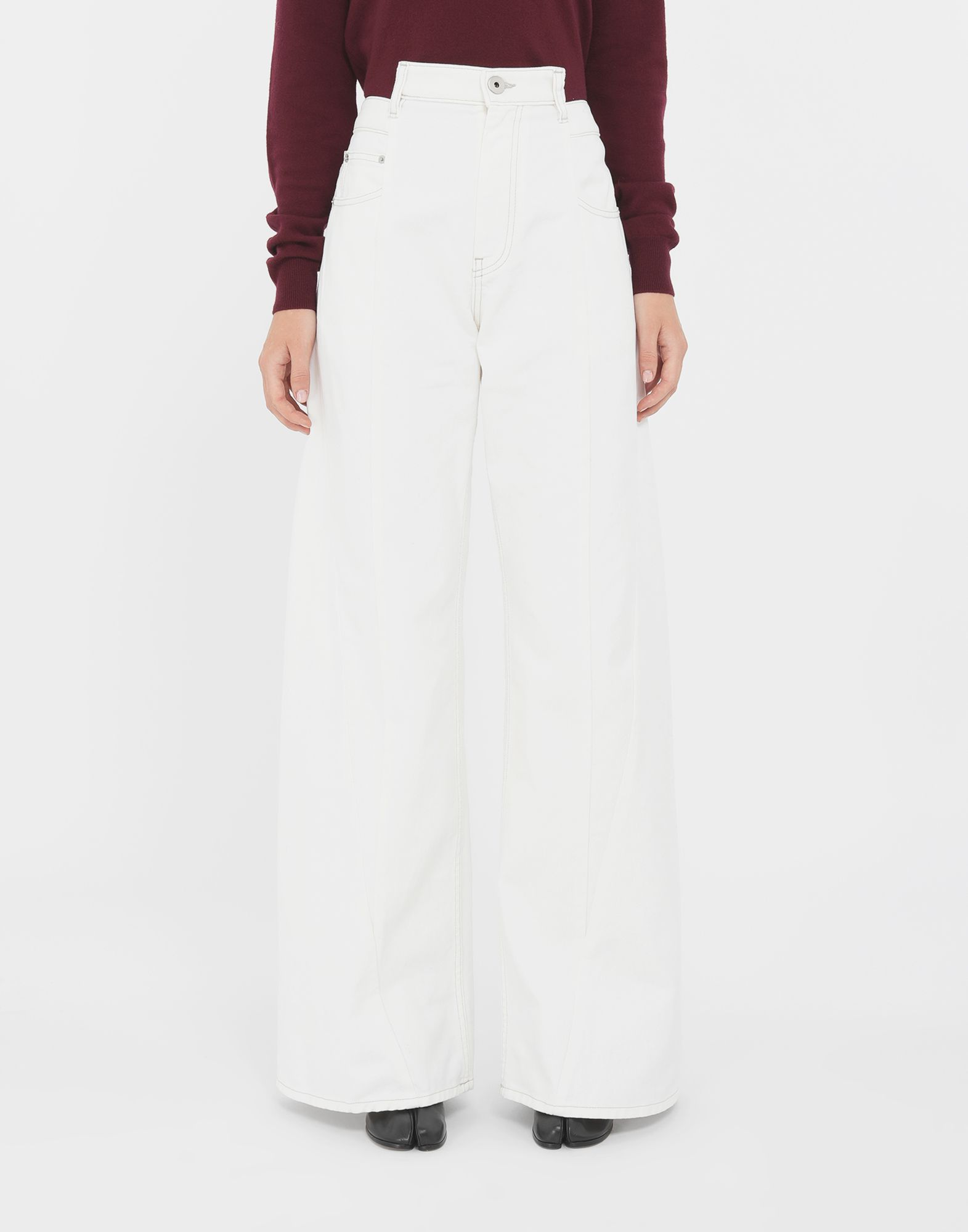 MAISON MARGIELA Décortiqué jeans Jeans Woman r