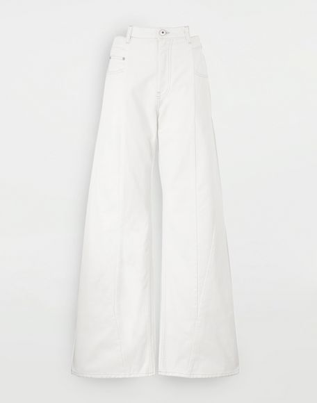 MAISON MARGIELA Vaqueros Décortiqué Pantalones vaqueros Mujer f
