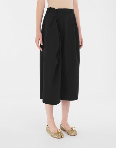 PANTS Reworked culottes Black