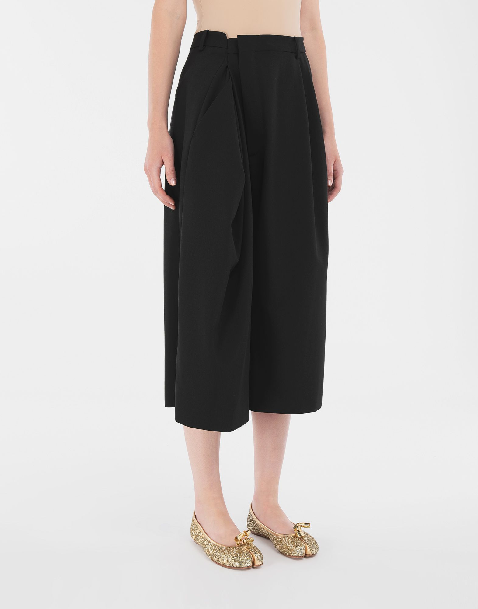 MAISON MARGIELA Reworked culottes Shorts Woman r