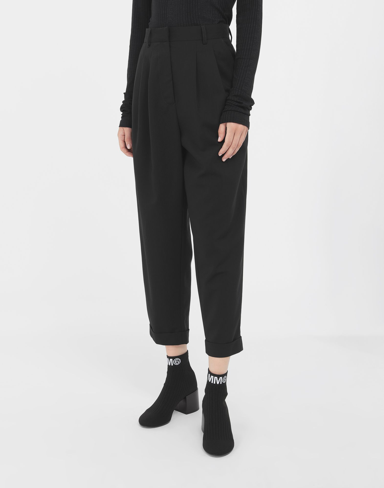 MM6 MAISON MARGIELA Tapered trousers Casual pants Woman r