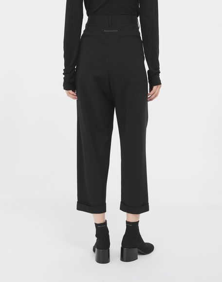 MM6 MAISON MARGIELA Tapered trousers Trousers Woman e