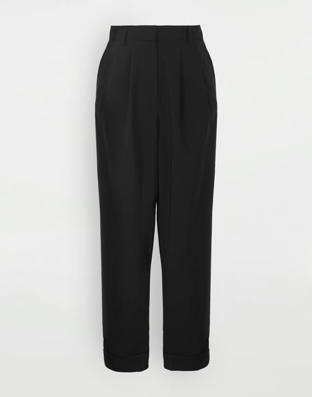 MM6 MAISON MARGIELA Tapered trousers Trousers Woman f