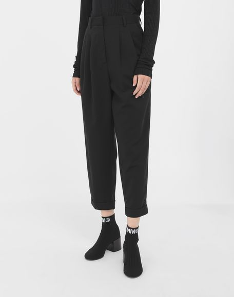 MM6 MAISON MARGIELA Tapered trousers Trousers Woman r