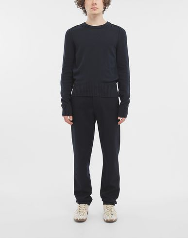 TROUSERS Wool trousers Blue